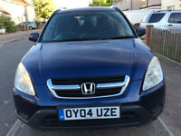 2004 HONDA CRV AUTO 4x4 NEW MOT AIR CONDITION, DRIVE SUPERB/toyota rav4/suzuki vitara/jeep/AUTOMATIC