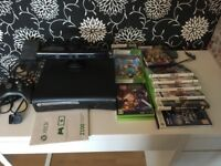 Xbox 360 with Kinnect and games