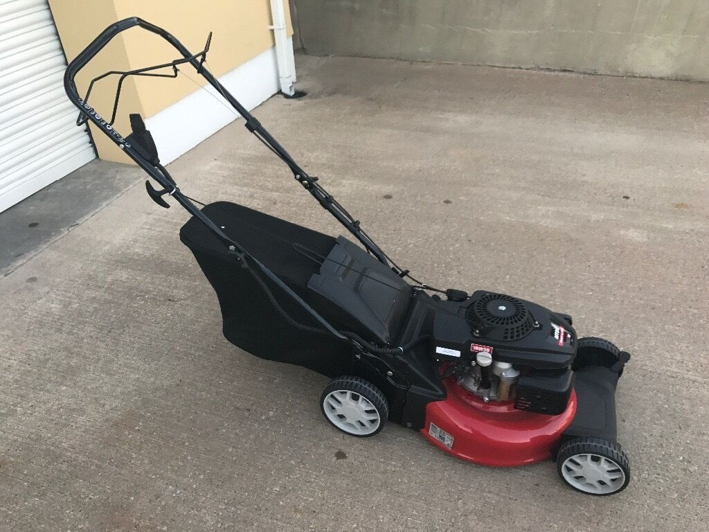 """18"""" M.T.D. KEY START LAWNMOWERin Cookstown, County TyroneGumtree - 18"""" M.T.D. KEY START LAWNMOWER 173cc OHV ELECTRIC START ENGINE STEEL DECK POWER DRIVE 70 LITRE GRASS BAG 18"""" CUTTING WIDTH A REAL BARGAIN AT ONLY £295 FOR THIS BRAND NEW MACHINE! NO TEXTS PLEASE, CALLS PREFERRED"""