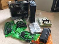 Xbox 360 limited edition + Kinect sensor and games