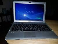 Sony Vaio notebook 8gb ram 500gb hdd