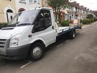 2008 Ford Transit Tow Recovery Truck Lwb 2.4 Diesel 6 speed 140bhp Mot Fsh BARGAIN REDUCED PRICE