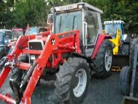 Massey Ferguson 3065 with Power Loader