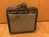 *Guitar Amp. Fender Frontman 15g for £25 (includes cable to connect to guitar)*
