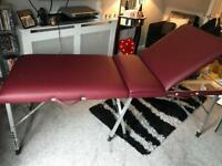 Quality foldable beauty table massage couch