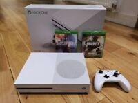 XBOX One S 500GB - Boxed with Controller and 2 Games - Great Condition