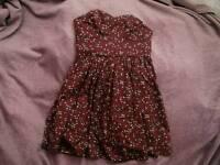 Jack Wills Strapless Dress