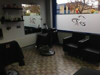 Barber shop lease for sale