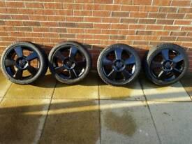 Vauxhall Corsa C SRI alloys 4X100