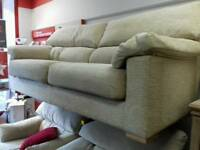 Lovely cream fabric suite