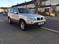 BMW X5 3.0 i automatic , full cream leather , spare key, 12 months mot