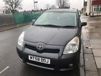 Toyota verso 1.8 MPV automatic 7 seater low mileage