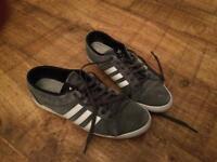 Grey adidas - Size 8