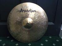 """Beautiful Anatoljan Jazz Ride 20"""""""