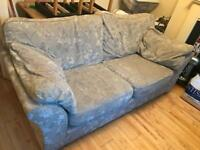 Comfortable double sit grey sofa + delivery