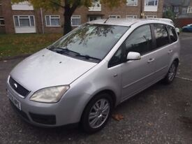1.8 FORD C MAX 2005 YEAR 81000 MILES MOT TILL 18/11/2018 SERVICE HISTORY 3 MONTHS WARRANTY