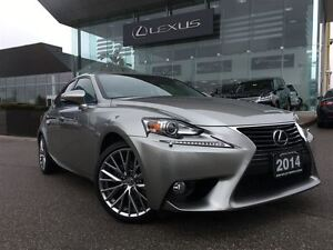 2014 Lexus IS 250 Premium Pkg AWD Back Up Cam Leather Bluetooth