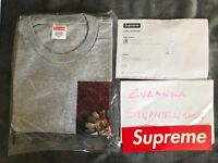 SUPREME Mike Hill Snake Trap L/S Tee (grey) size: M