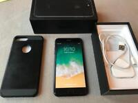 IPhone 7 Plus - 128gb - unlocked and boxed - high gloss black