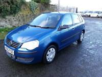 Volkswagen Polo 2006, 1.2, low mileage, full service history, cheap insurance