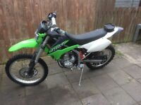 Kawasaki Klx 250 with V5 mileage 4783 £2400