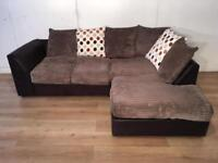 Gray corner sofa with free delivery within London