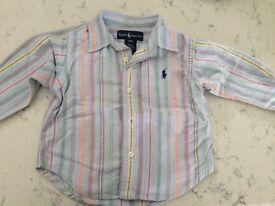 Ralph Lauren shirt 12 months - great condition / like new