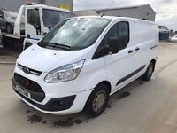 FORD TRANSIT CUSTOM 2013REG, SPARES OR REPAIRES, FOR SALE