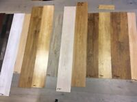 Stock clearance on LVT & Laminate Flooring. Vary from 2sq metres - 18 sq metres. Very Cheap prices.