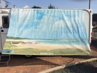Sun shade for fiamma or caravanstore awnings