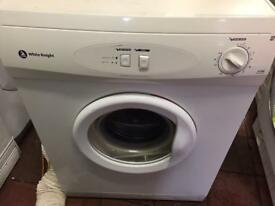 White knight vented dryer