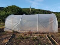 First Tunnels Poly Tunnel 21ft long x 14ft wide