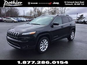 2015 Jeep Cherokee Limited | LEATHER | SUNROOF | REAR CAMERA |