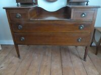 Lovely Edwardian Dressing Table with triple mirror