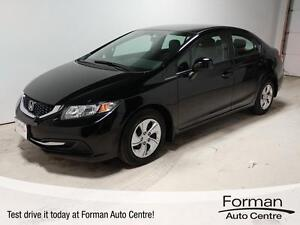 2013 Honda Civic LX - Bluetooth | Heated Seats | Low KMs!