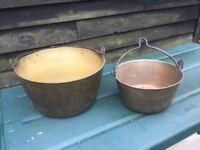 Brass Preserving Pans
