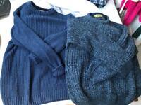 2 men's jumpers