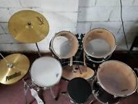 Ludwig cadillac green drum kitt