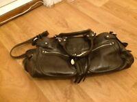 Chocolate brown Francesso Biasia handbag