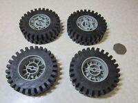 Very Large Vintage Lego Technic Wheels