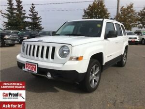 2017 Jeep Patriot HIGH ALTITUDE 4X4** LEATHER**NAVI*SUNROOF