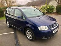 VOLKSWAGEN TOURAN 2.0 TDI PD SPORT 7 SEATER 5 Doors MPV * FIRST TO SEE WILL BUY 1 OWNER FSH