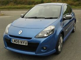 RENAULT CLIO GT 1.6 16V VVT, 2009, NEW SHAPE, 2 OWNERS, 67'000 MILES, FSH, LEATHER, ALLOYS, SUPERB