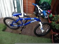 "BMX bike with 18"" wheels MFX GRAND BLUE KID'S"