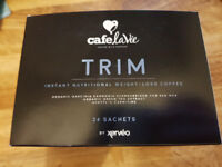 Xerveo cafe la vie Trim (weight loss) coffee (blue box) 6 sachets/1 week supply.