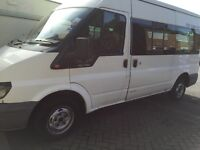Ford transit minibus (psv)