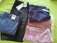 M&S Cotton Shorts in different colours . Brand new with tags.