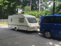 Elddis Shamal XL 4 berth caravan