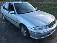 Rover 45 Impression S3 TD 1994cc Turbo Diesel 5 speed manual 5 door hatchback 04 Plate 31/03/2004