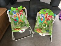 Fisher-Price Rainforest Infant to Toddler Rockers